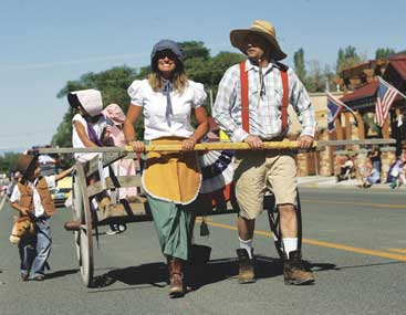 Parade participants enjoyed last year's Pioneer Day event.
