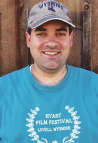 Film Festival organizer Jason Zeller is excited about the variety of films that will be screened at this year's Hyart Film Festival, which will be held Aug. 9-11 at the Hyart Theatre in Lovell.