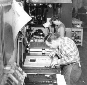Centennial-1958-Chronicle-Staff