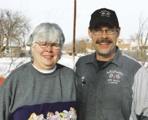 Karen and Jim Felt won North Big Horn Hospital's Biggest Loser contest for losing the highest percentage of their body weight during a 10-week program that began last fall.