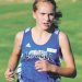 Lovell sophomore Jaclyn Caldwell, pictured here running during the Sept. 23 Rocky Mountain Invitational, placed third at the 2A West Regional meet in Thermopolis Friday. David Peck photo