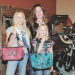TJ's Bling owner Jennifer Steed poses in her store with daughters Tori (left) and Josey – the store's namesakes – while working to set up the new store on Monday afternoon. David Peck photo