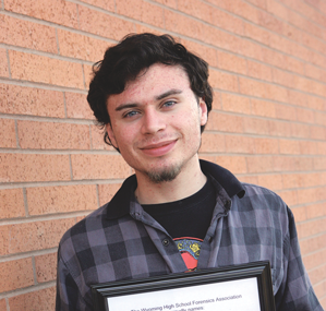 Lovell High School junior Cole Moncur was honored as an All-State competitor at the 2014 WHAA State Speech and Debate Tournament held at Western Wyoming College in Rock Springs last week. Patti Carpenter photo