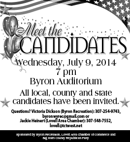 Meet the Candidates forum in Byron