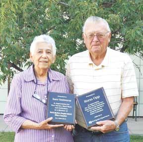 Inez Ontiveroz and Norm Opp