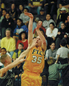 Kevin Hatch during his playing days at Fort Lewis.