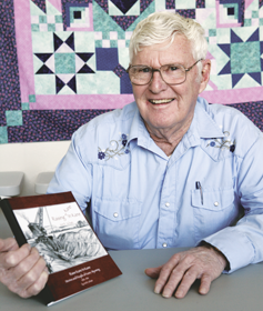 """Local author Art Schatz recently released his first book entitled """"Raising Kane in Kane."""" The book is a collection of colorful stories that are part fiction and part true personal accounts told by people who grew up in the area. Patti Carpenter"""