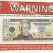 The U.S. Secret Service is investigating the circumstances surrounding two counterfeit bills that were passed in Lovell within the last few weeks.