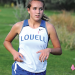 Lovell senior Jaclyn Caldwell competes during the Rocky Mountain Invitational on Sept. 21 at Foster Gulch. Caldwell was Lovell's lone all-conference runner last week, placing ninth at the 3A West Regional in Lander Friday. David Peck photo