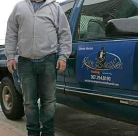 Charles Wachob aims to serve Lovell and the surrounding communities with quick and efficient service through his newly formed heating, cooling and appliance repair business based in Cowley. Patti Carpenter photo