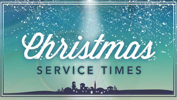 Christmas Eve services at Second Congregational Church